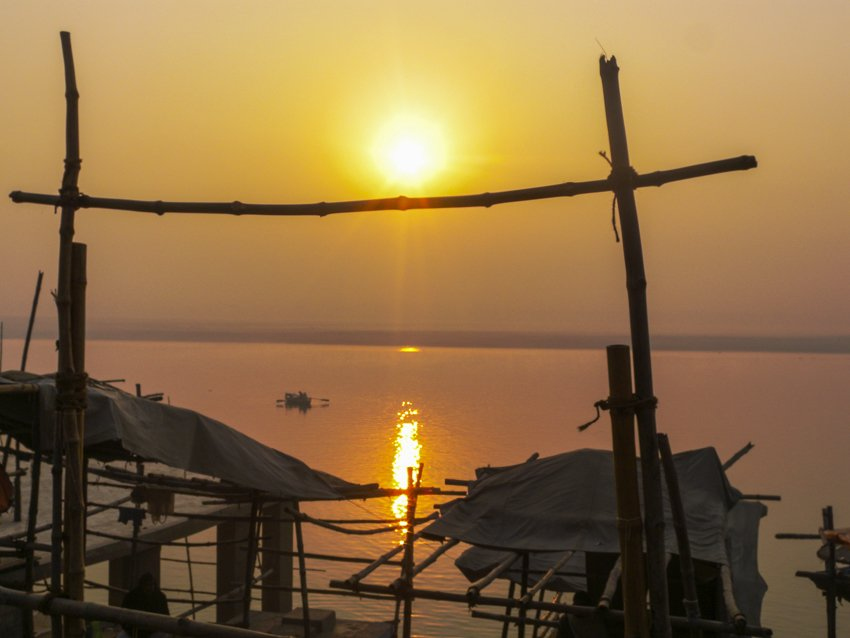 The Ganges at Varanasi, India