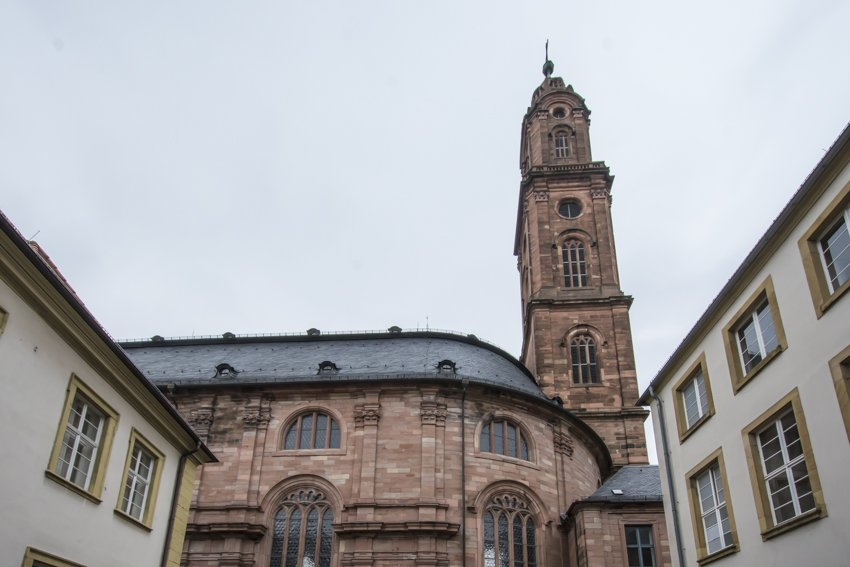 Jesuit church, Heidelberg