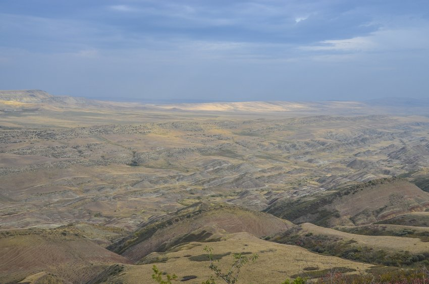 Azerbaijan is somehwere in the distance, Davit Gareja