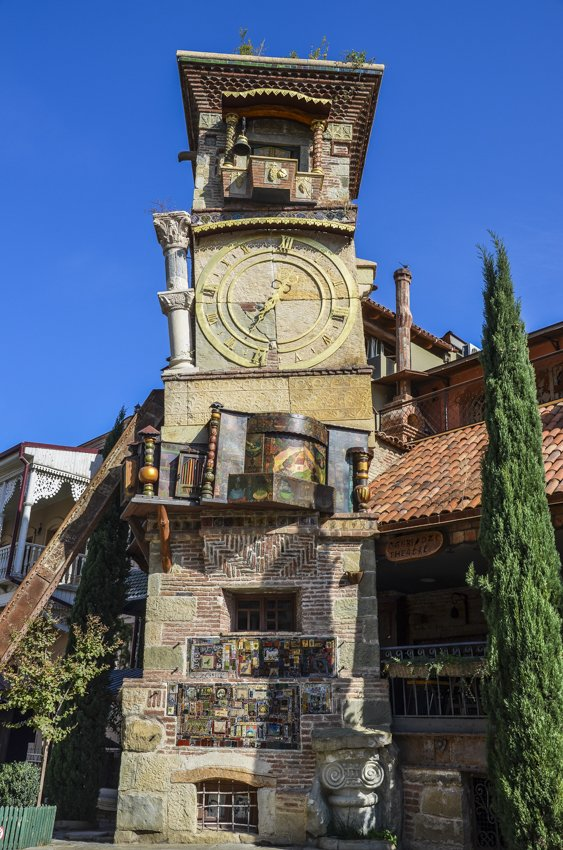 Clock tower, Tbilisi