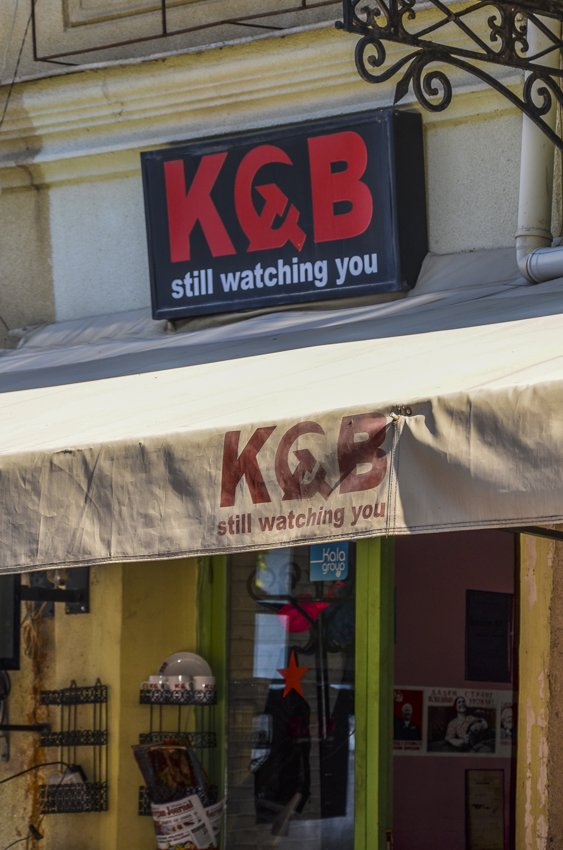KGB cafe, Tbilisi