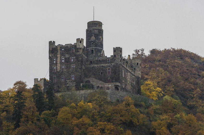 One of many castles along The Romantic Road