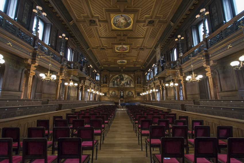 The Alte Aula in Heidelberg, Germany
