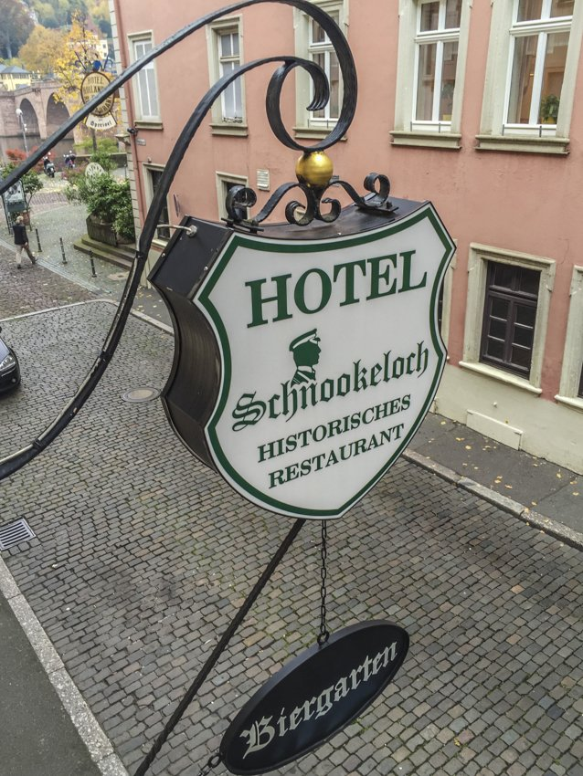 Hotel Schnookeloch in Heidelberg, Germany