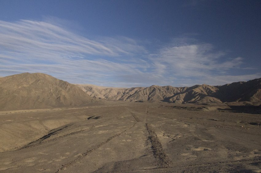 Los Paredones, The Walls, Nazca Lines