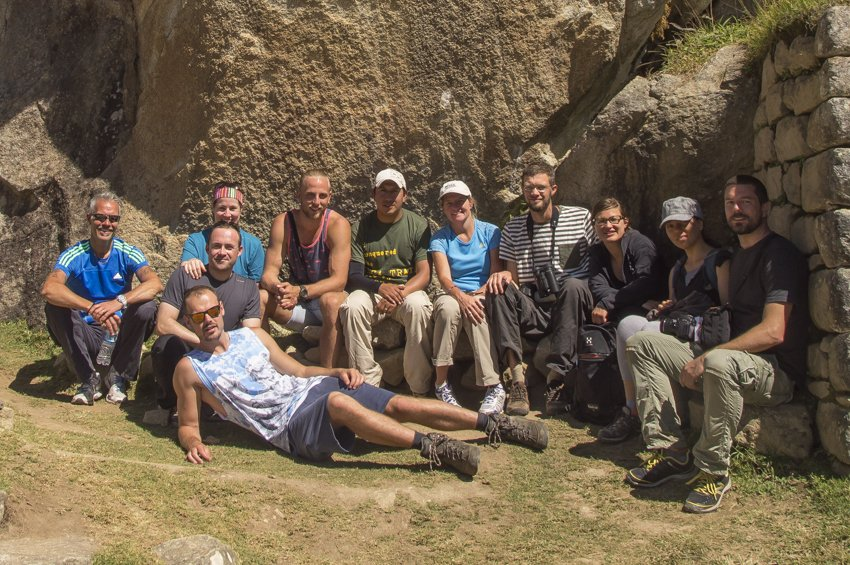 Our awesome trekking group