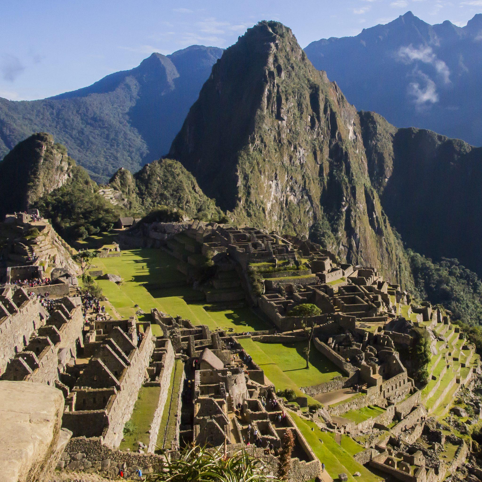 Huayna Picchu seen from the Sun Gate, Machu Picchu
