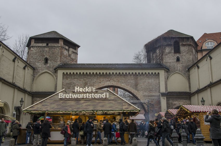 Christmas Markets, Munich 2015